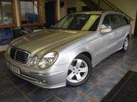 USED 2005 55 MERCEDES-BENZ E CLASS 2.1 E220 CDI AVANTGARDE 5d AUTO 150 BHP