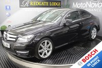 USED 2012 62 MERCEDES-BENZ C CLASS C220 CDI BLUEEFFICIENCY AMG SPORT 2d AUTO 170 BHP