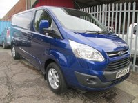 2015 FORD TRANSIT CUSTOM 290 LIMITED L2 LWB 125 PS *HIGH SPEC MODEL*ONLY 23000 MILES* £13995.00