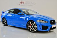 USED 2013 13 JAGUAR XF 5.0 V8 R-S 4d AUTO 542 BHP XFRS GREAT INVESTMENT LAUNCH COLOUR