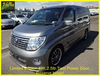 2007 NISSAN ELGRAND 2.5 Highway Star Ltd Edition  Automatic 8 Seats  £10000.00