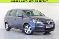 USED 2008 08 VAUXHALL ZAFIRA 1.8 BREEZE 5d 140 BHP 1 OWNER FULL VAUXHALL HISTORY INC CAMBELT