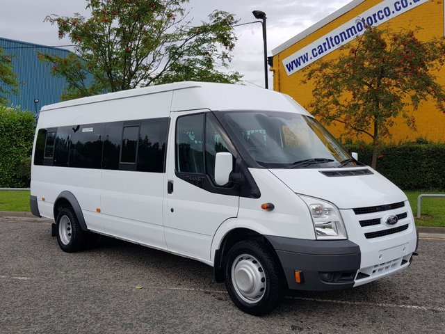 2011 61 FORD TRANSIT WAV MINIBUS 115 T430e 16 Seat [ M2 ] Wheel Chair -Disabled, Low Mileage Tachograph Free UK Delivery