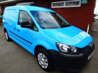 USED 2011 61 VOLKSWAGEN CADDY MAXI 1.6 C20 TDI 1d 101 BHP Air Conditioned, Very Clean Van Cam Belt done In 2017, Good Service History