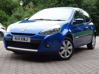 USED 2011 11 RENAULT CLIO 1.1 GT LINE TOMTOM TCE 3d 100 BHP