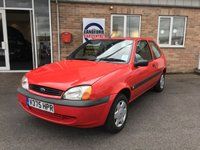 USED 2000 V FORD FIESTA 1.3 FINESSE 3d 59 BHP