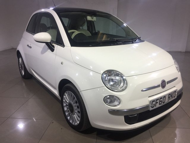 View our 2010 60 FIAT 500 1.2 LOUNGE 3d 69 BHP