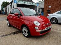 2011 FIAT 500 1.2 LOUNGE 3d 69 BHP £4490.00