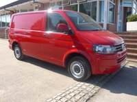 USED 2014 14 VOLKSWAGEN TRANSPORTER 2.0 T28 TDI STARTLINE, 102 BHP, ELECTRIC PACK, FULL SERVICE HISTORY