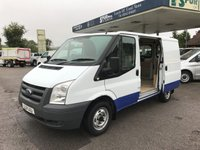 USED 2011 11 FORD TRANSIT 2.2 280 LR 1d 85 BHP One Owner, Direct London Underground, Very Good Condition.