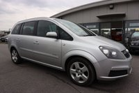 USED 2007 07 VAUXHALL ZAFIRA 1.6 ENERGY 16V 5d 105 BHP NOT AVAILABLE ON FINANCE.