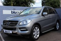 2012 MERCEDES-BENZ M-CLASS ML250 2.1 CDi BLUETEC SPECIAL EDITION AUTO 204 BHP £24970.00