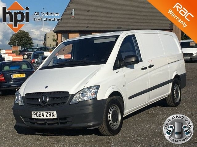 2014 64 MERCEDES-BENZ VITO 2.1 113 CDI BLUEEFFICIENCY LONG VAN LWB