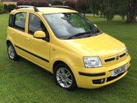 USED 2011 11 FIAT PANDA 1.2 DYNAMIC 5STR 5d 69 BHP ***LOW MILEAGE**12 MT WARRANTY