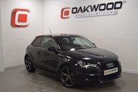 USED 2012 12 AUDI A1 2.0 TDI S LINE BLACK EDITION 3d 143 BHP PRIVACY GLASS AND 18 INCH ROTOR ALLOYS