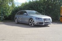 USED 2010 10 AUDI A4 2.0 AVANT TDI S LINE SPECIAL EDITION 5d AUTO 141 BHP