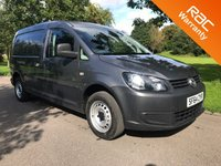 2014 VOLKSWAGEN CADDY MAXI 1.6 C20 TDI  BLUEMOTION TECHNOLOGY 6d 102 BHP AIR CON £6495.00