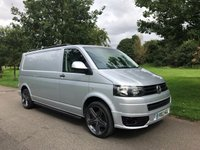 "2012 VOLKSWAGEN TRANSPORTER 2.0 T30 TDI 140 BHP CARPETED SPORTLINE STYLING PACK 6 SPEED 20"" ALLOYS £12995.00"