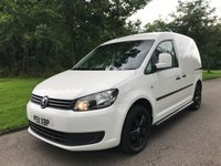 2011 VOLKSWAGEN CADDY NO VAT 1.6 C20 TDI  COLOUR CODED BUMPERS ALLOYS SERVICE HISTORY £7250.00