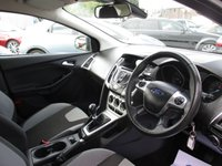 USED 2013 13 FORD FOCUS 1.6 ZETEC TDCI 5d 113 BHP ONLY £20 ROAD TAX - FULL FORD SERVICE HISTORY