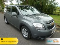 USED 2011 11 CHEVROLET ORLANDO 2.0 LT VCDI 5d 163 BHP VERY NICE SEVEN SEAT ORLANDO AUTOMATIC DIESEL WITH ONE PREVIOUS LADY OWNER, CLIMATE CONTROL, ALLOY WHEELS AND SERVICE HISTORY