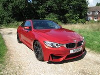 USED 2015 15 BMW M4 3.0 M4 DCT 2dr (start/stop) F/S/H,Carbon Roof,Low Mileage