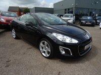 2013 PEUGEOT 308 2.0 HDI CC ALLURE NAVIGATION VERSION 2d AUTO 163 BHP £8990.00