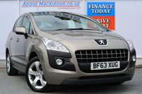 USED 2013 63 PEUGEOT 3008 1.6 HDI ACTIVE 5d 115 BHP **ONE OWNER**