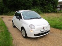 USED 2015 15 FIAT 500 1.2 Pop 3dr (start/stop) FS/History 1 Owner