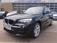 USED 2012 62 BMW X1 2.0 XDRIVE20D M SPORT 5d 181 BHP FULL LEATHER - UPGRADED ALLOYS