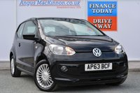 USED 2014 63 VOLKSWAGEN UP 1.0 HIGH UP 3d 74 BHP FRONT HEATED SEATS