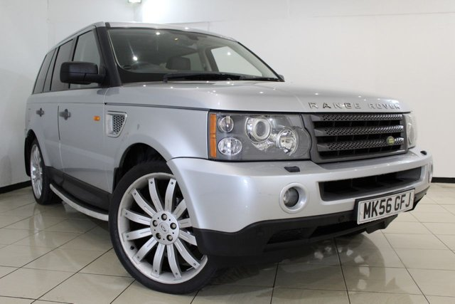 View our 2006 56 LAND ROVER RANGE ROVER SPORT 2.7 TDV6 HSE 5DR AUTOMATIC 188 BHP