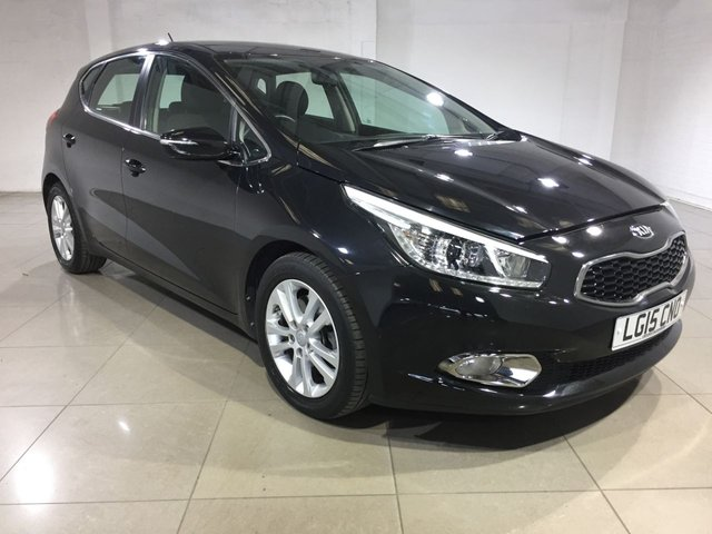 View our 2015 15 KIA CEED 1.6 CRDI 2 5d 126 BHP