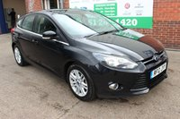 USED 2012 12 FORD FOCUS 1.6 TITANIUM TDCI 115 5d 114 BHP +Reverse CAMERA +Sony Stereo.