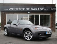 USED 2006 56 MAZDA MX-5 2.0 I 2d 160 BHP LOVELY MX5 IN BEST COLOUR, 2 KEYS, 1 YRS MOT, MUST BE DRIVEN.