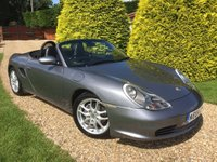 USED 2004 04 PORSCHE BOXSTER 2.7 SPYDER 2d 228 BHP