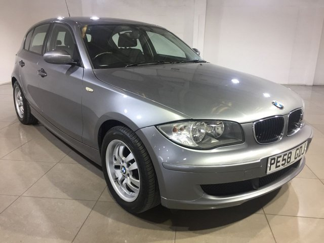 View our 2008 58 BMW 1 SERIES 2.0 120D 5d 175 BHP