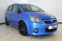 USED 2007 VAUXHALL ZAFIRA 2.0 VXR 5DR 240 BHP HALF LEATHER SEATS + AIR CONDITIONING + 7 SEATS + MULTI FUNCTION WHEEL + RADIO/CD + 18 INCH ALLOY WHEELS