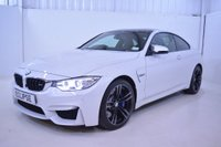 USED 2014 64 BMW 3.0 3.0 M4 DCT 2dr (start/stop) Mineral White, Heads up HK ETC
