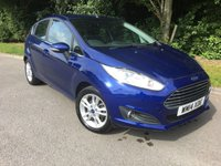 USED 2014 14 FORD FIESTA 1.2 ZETEC 5d 81 BHP 1 Private Owner From New, £30 Road Tax