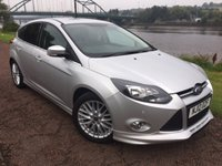 USED 2012 12 FORD FOCUS 1.6 ZETEC S S/S 5d 124 BHP **APPEARANCE PACK**