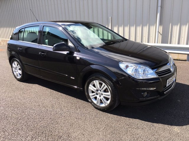 2009 59 VAUXHALL ASTRA 1.8 DESIGN 5d 138 BHP AUTOMATIC