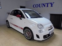 USED 2009 09 ABARTH 500 1.4 ABARTH 3d 135 BHP * FULL HISTORY * 12 MONTHS MOT *