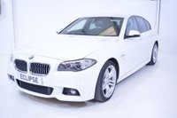 USED 2015 65 BMW 5 SERIES 2.0 520d M Sport 4dr Pro Nav H/K Finance Available
