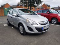 USED 2013 13 VAUXHALL CORSA 1.2 S AC 5d 83 BHP EXCELLENT FUEL ECONOMY!!..LOW CO2 EMISSIONS129G/KM)..LOW ROAD TAX...FULL HISTORY(4 SERVICES)..ONLY 12776 MILES FROM NEW!!..WITH AIR CONDITIONING!!