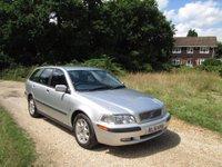 2002 VOLVO V40 1.8 SE 5dr £990.00