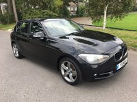 USED 2012 61 BMW 1 SERIES 2.0 120D SPORT 5d AUTO 181 BHP NEW SHAPE AUTOMATIC 1 SERIES DIESEL SPORT WITH FSH
