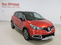 USED 2017 66 RENAULT CAPTUR 1.5 SIGNATURE NAV DCI 5d 90 BHP with Black Roof