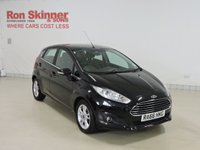 USED 2016 66 FORD FIESTA 1.5 ZETEC TDCI 5d 74 BHP with City Pack