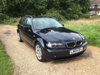 USED 2004 04 BMW 3 SERIES 3.0 330d SE Touring 5dr Low Mileage, Rare Example